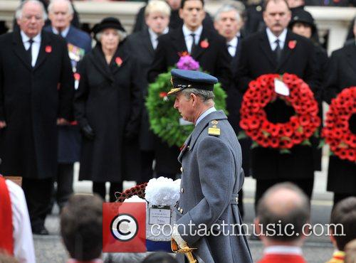 Prince Charles Remembrance Sunday memorial service held at...