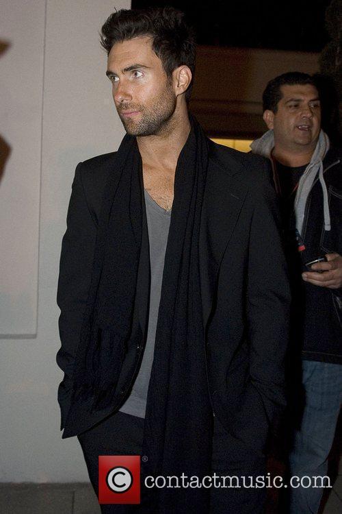 Adam Levine (frontman for the pop rock band...