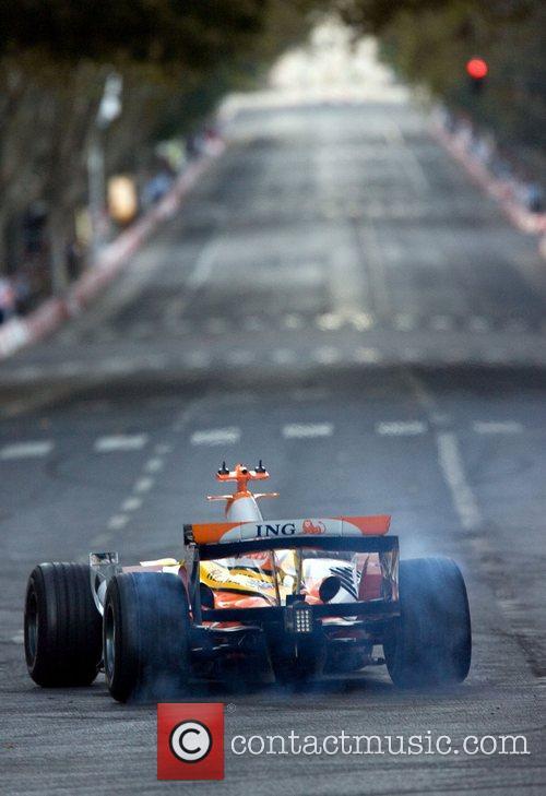 Lucas Di Grassi during the street car circuit...