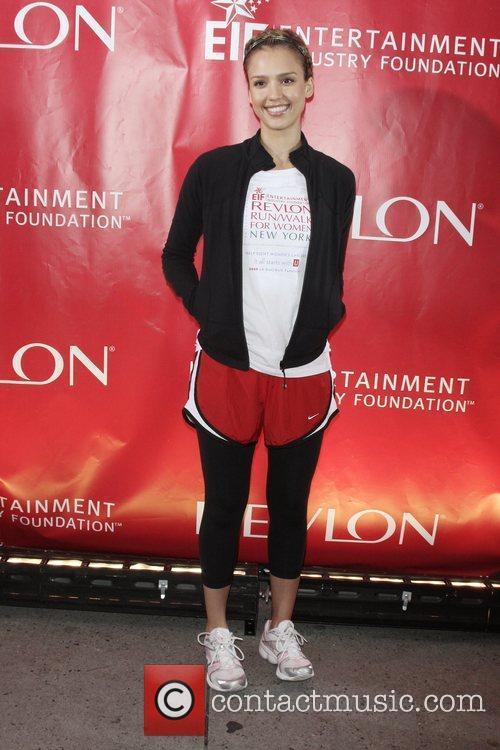 Jessica Alba 12th Annual EIF Revlon Run/Walk For...