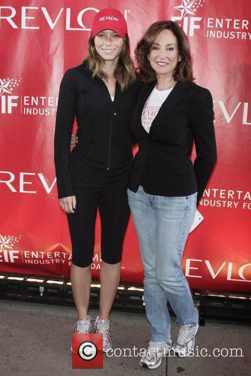 Jessica Biel and Lilly Tartikoff  12th Annual...