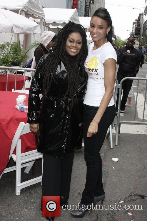 Caron Wheeler and Ciara 12th Annual EIF Revlon...
