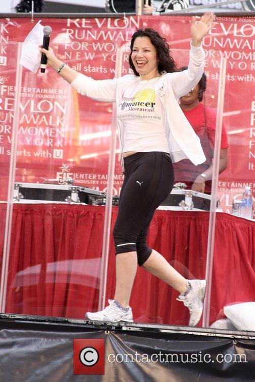 Fran Drescher  12th Annual EIF Revlon Run/Walk...