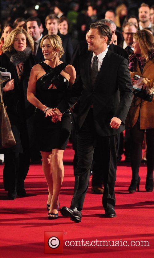 Kate Winslet, Leonardo DiCaprio, Odeon Leicester Square