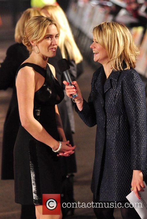 Kate Winslet and Edith Bowman  Revolutionary Road...