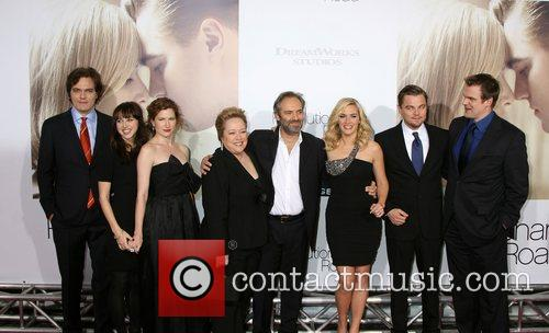 Michael Shannon, Kate Winslet, Leonardo Dicaprio and Sam Mendes 2
