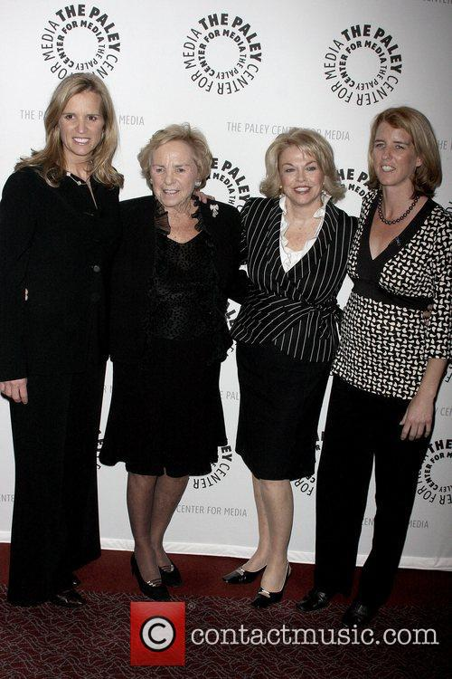 Kerry Kennedy, Ethel Kennedy, Pat Mitchell and Rory Kennedy 4