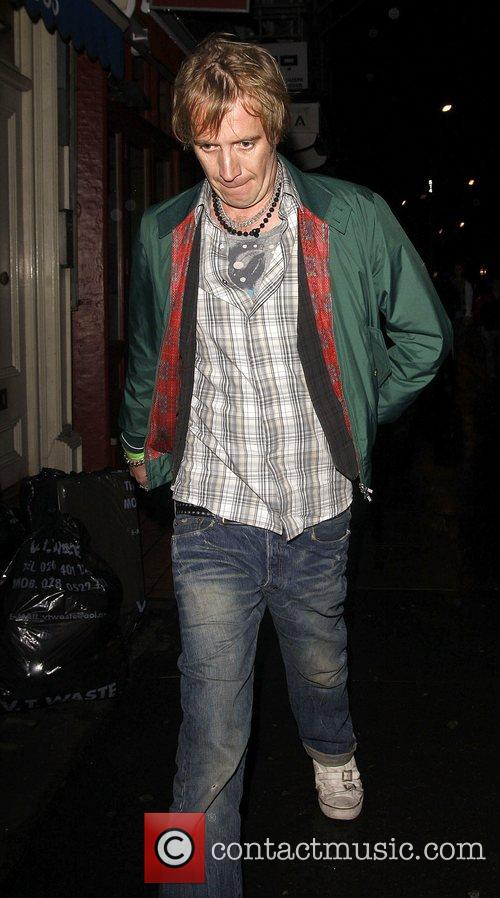 Rhys Ifans leaving the Groucho Club  London,...