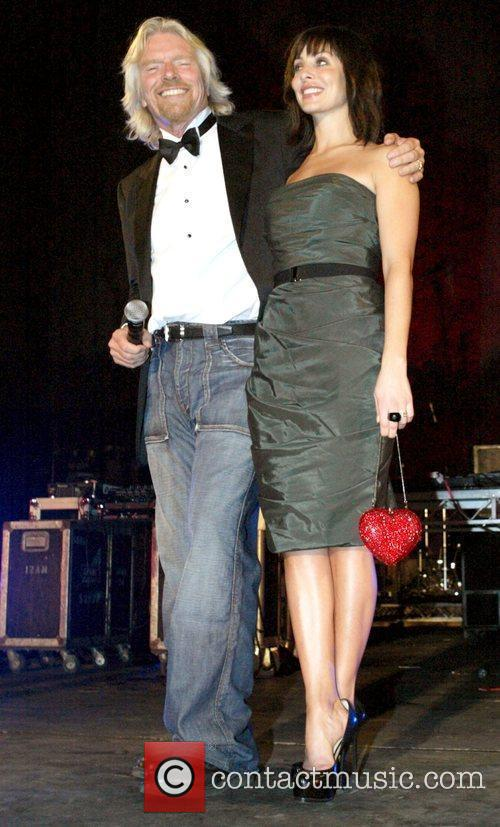 Richard Branson and Natalie Imbruglia 2
