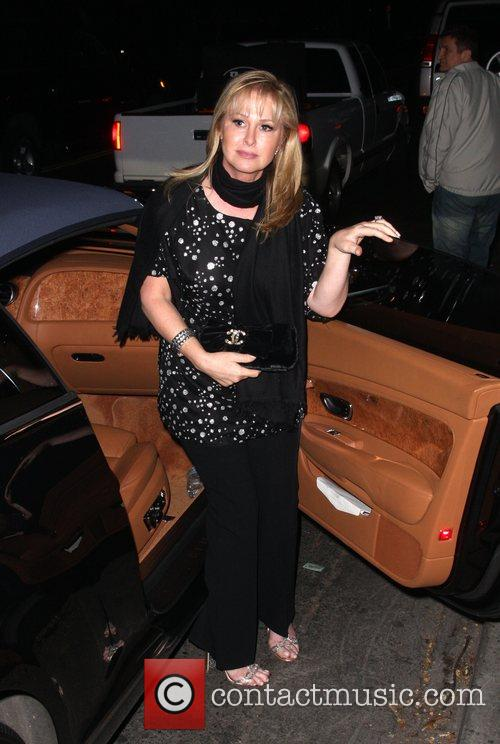 Cathy Hilton arriving at Beso restaurant Los Angeles,...