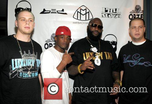 Rick Ross officially launches of his social networking...