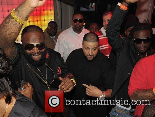 Rick Ross, DJ Khaled, Magazeen and friends Maybach...