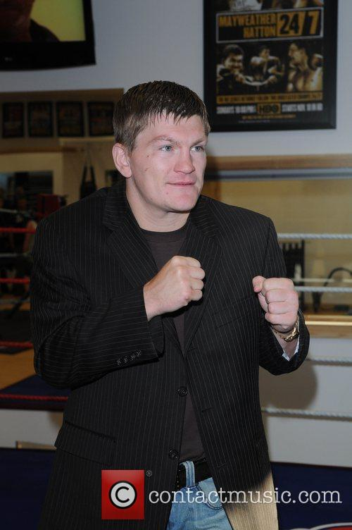 Ricky Hatton launches his new Gym, Hatton Health...