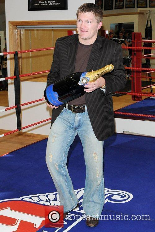 Ricky Hatton launches his new gym Hatton Health...