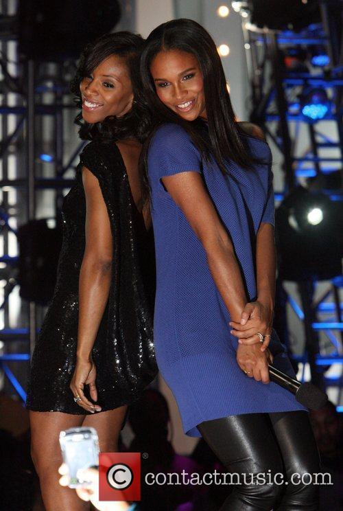 June Ambrose and Joy Bryant BET's 5th Annual...