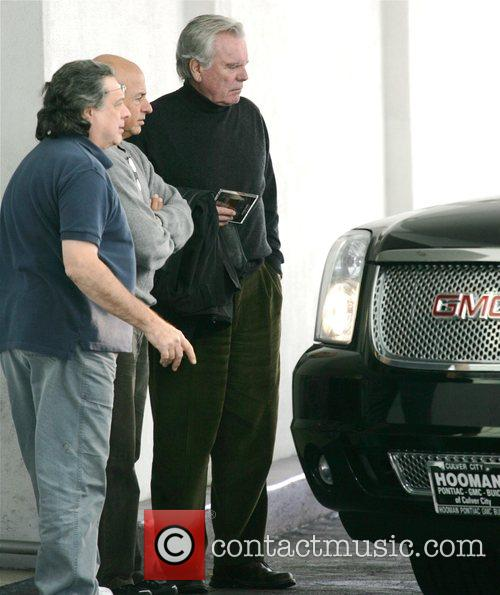 Robert Wagner out and about in Beverly Hills...
