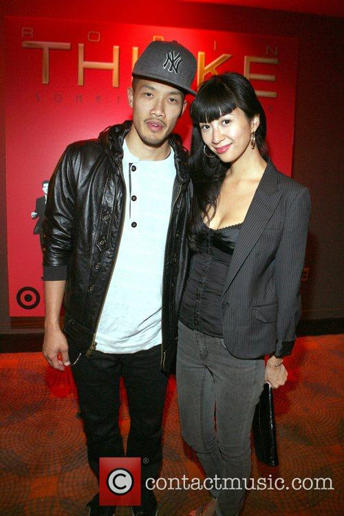 Dao-Yi Chow and Candice Chow  Robin Thicke's...