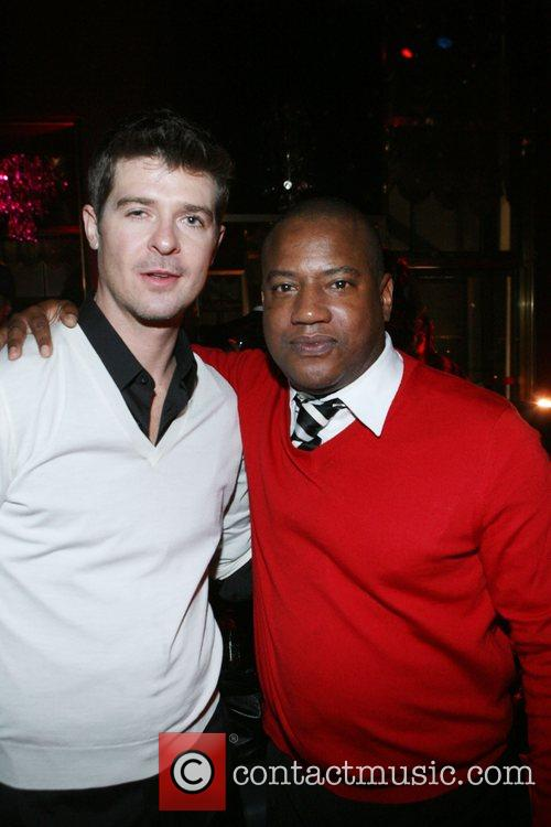 Robin Thicke and Greg Cunnigham  Robin Thicke's...