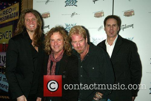 Night Ranger 'Rock of Ages' Broadway Opening Night...