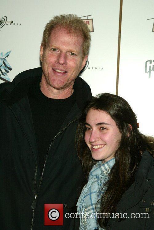 Noah Emmerich with his niece Sarah 'Rock of...