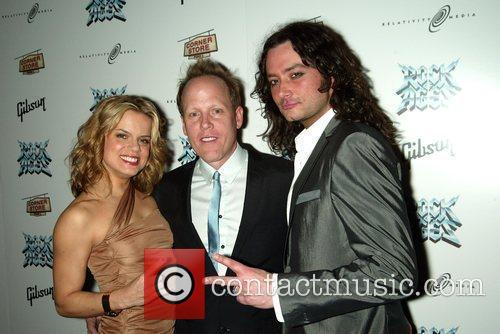 Amy Spanger, Matt Weaver and Constantine Maroulis