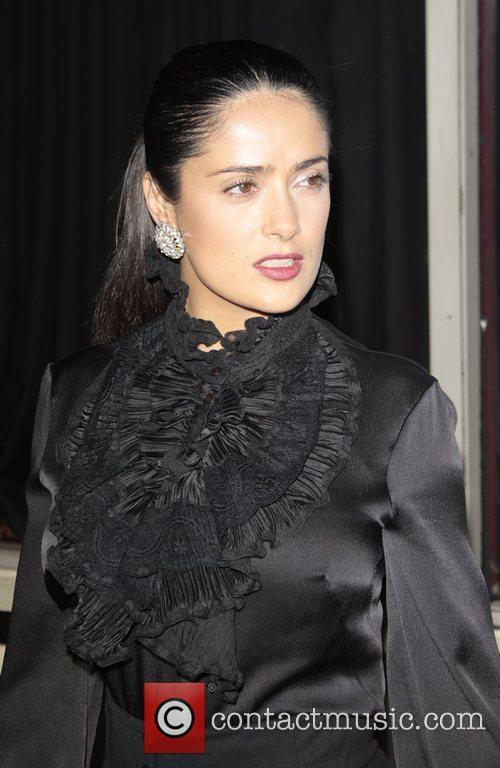 Salma Hayek attends the Virgin Unite 'Rock The...