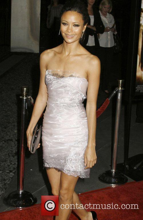 Thandie Newton 'RockNRolla' Premiere held at Pacific Cinerama...