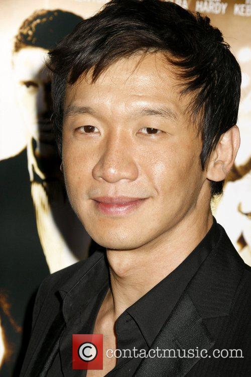 Chin Han 'RockNRolla' Premiere held at Pacific Cinerama...