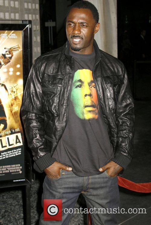 Idris Elba 'RockNRolla' Premiere held at Pacific Cinerama...