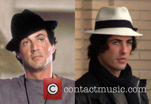 Sylvester Stallone and Rocky 1