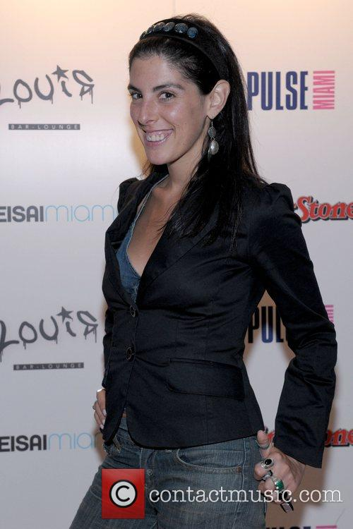 Esther Nash Rolling Stone Magazine Party at Louis...