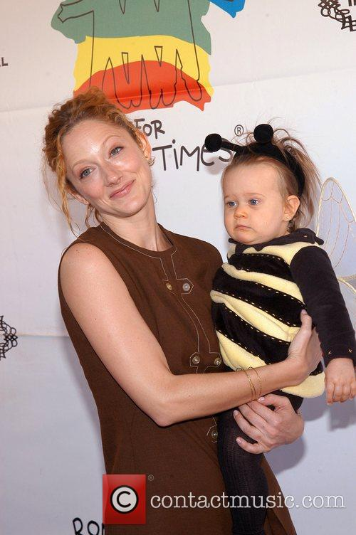 Judy Greer and her God Daughter Camp Ronald...