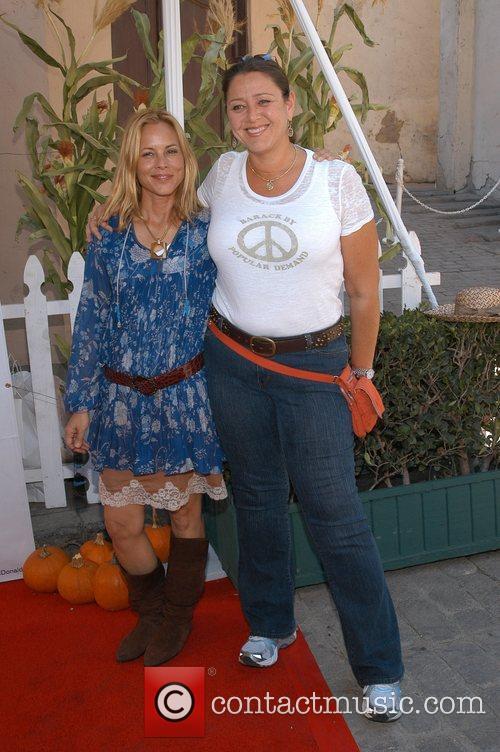 Maria Bello and Camryn Manheim Camp Ronald McDonald...