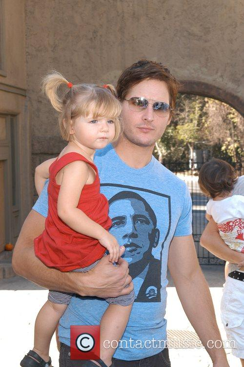Peter Facinelli and Daughter 2