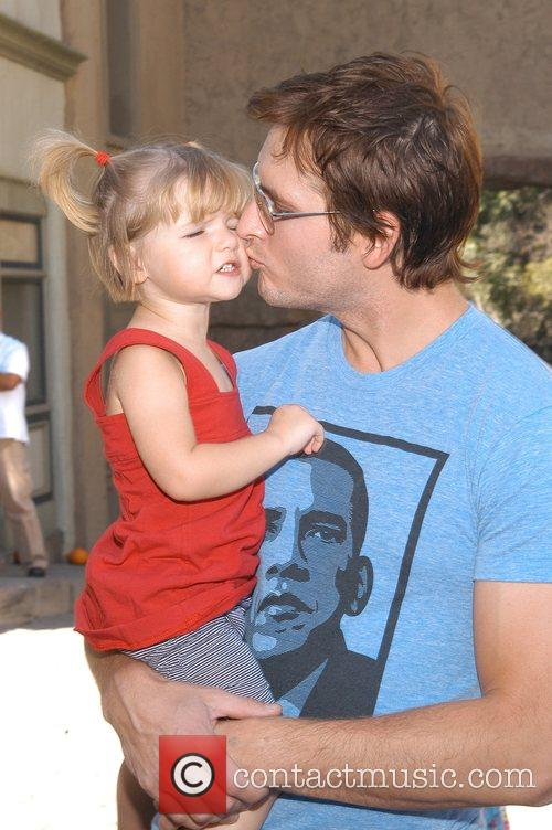 Peter Facinelli and Daughter 3