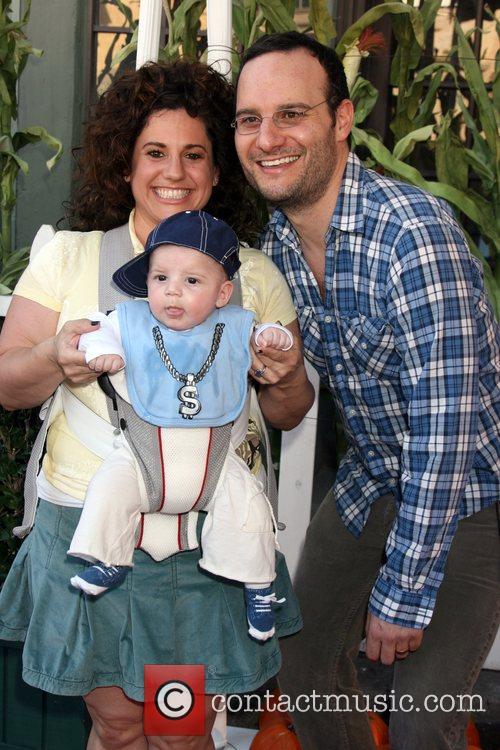 Marissa Jaret Winokur, Husband Judah Miller & their...