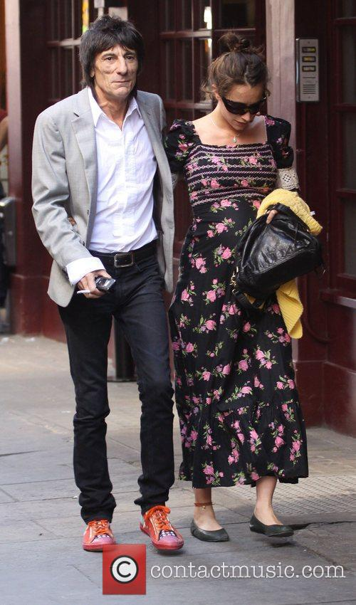 Ronnie Wood and Leah Wood 10