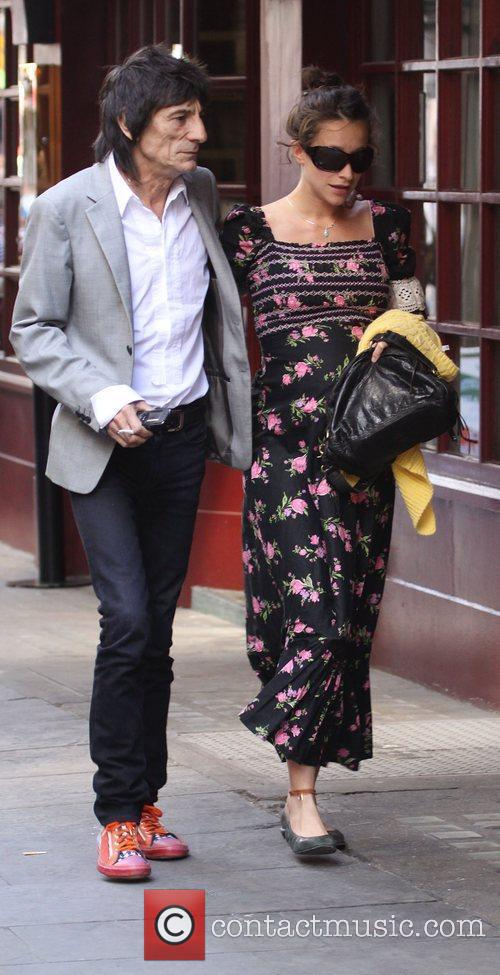 Ronnie Wood and Leah Wood 2