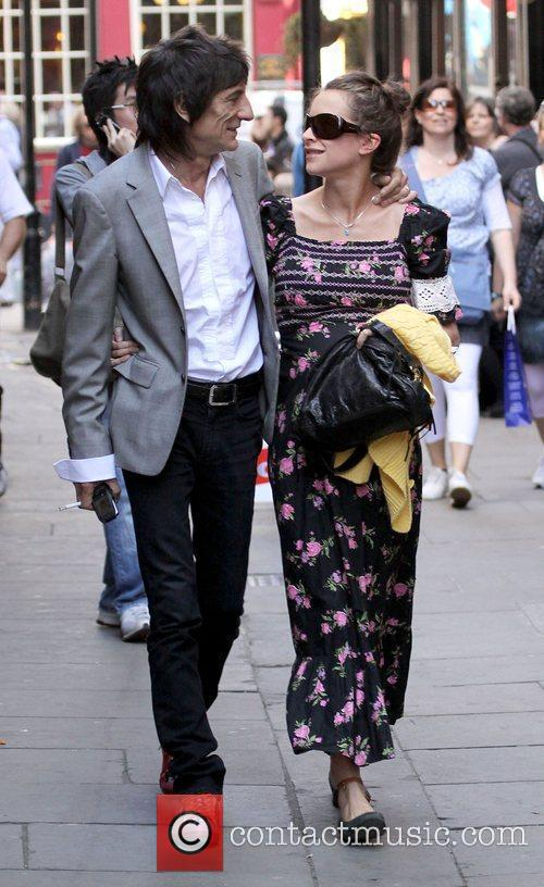 Ronnie Wood and Leah Wood 9