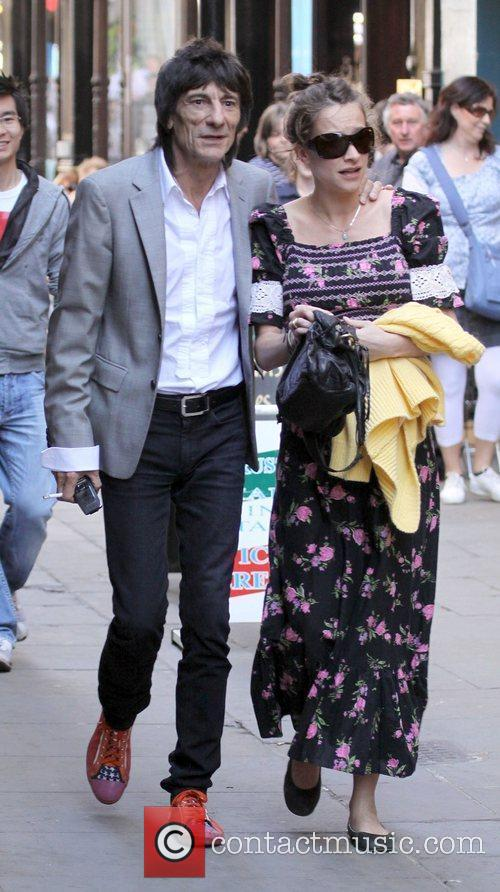Ronnie Wood and Leah Wood 4