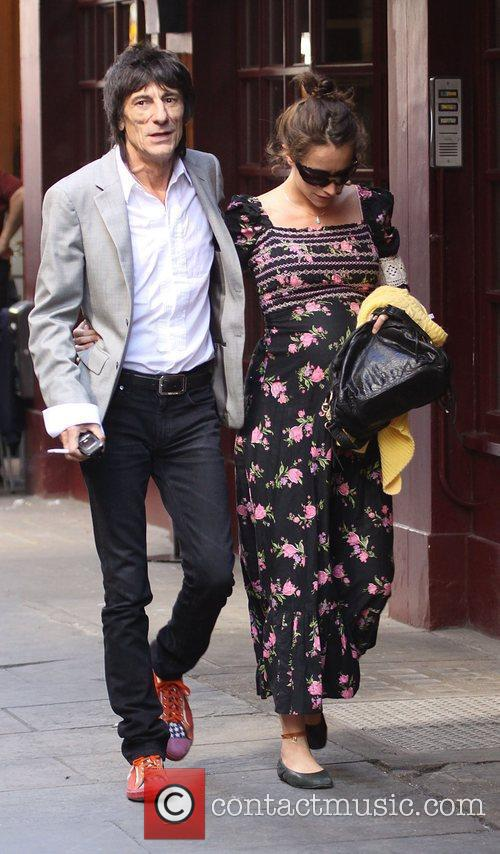 Ronnie Wood and Leah Wood 8
