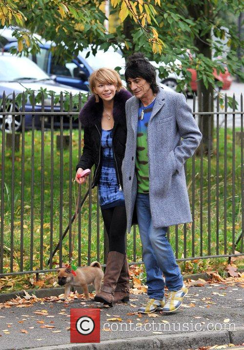 Ekaterina Ivanova and Ronnie Wood 1