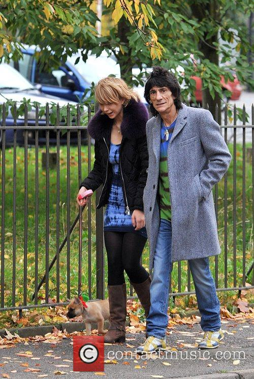 Ekaterina Ivanova and Ronnie Wood 5