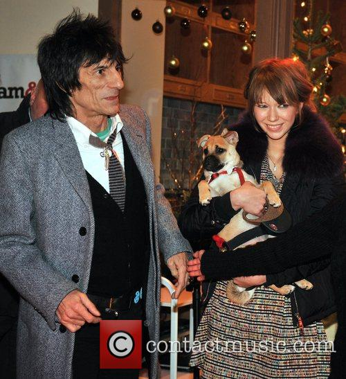 Ronnie Wood and Ekaterina Ivanova 4