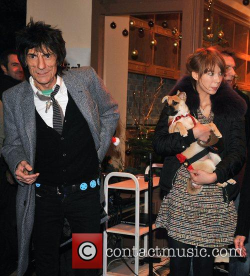 Ronnie Wood and Ekaterina Ivanova 2