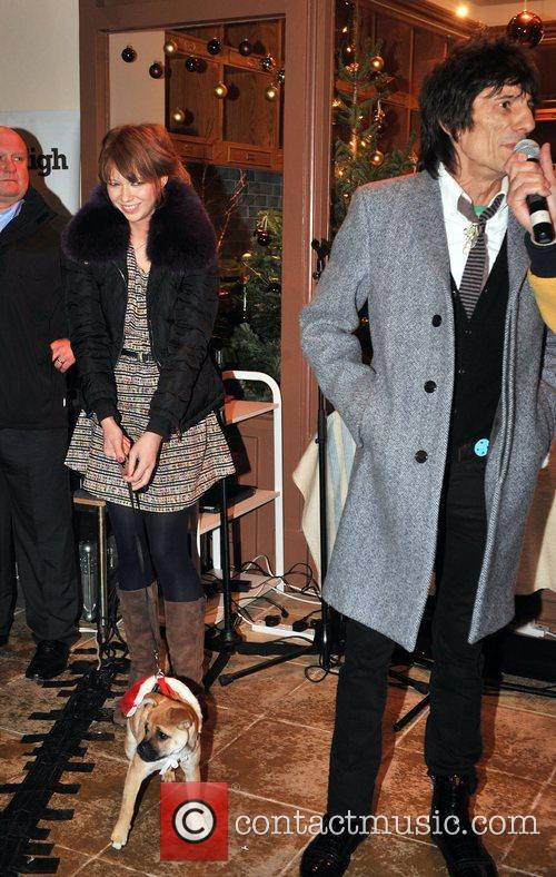 Ronnie Wood and Ekaterina Ivanova 10