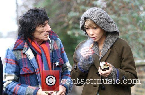 Ronnie Wood and girlfriend Ekaterina Ivanova 15
