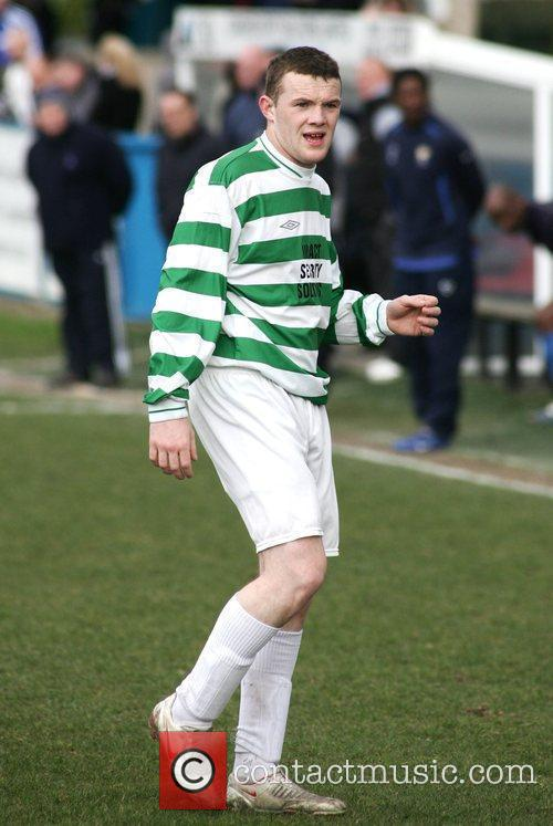 Thomas Rooney, younger brother of Wayne, plays football...