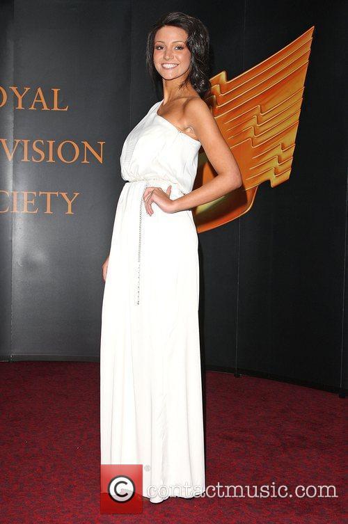 Michelle Keegan Royal Television Society (RTS) Awards held...