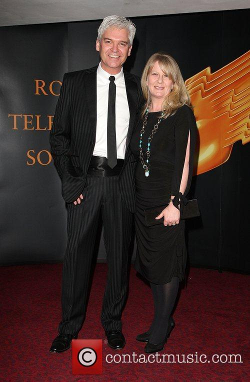 Phillip Schofield and Guest Royal Television Society (RTS)...